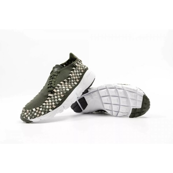 best service 85ea6 244c4 Nike Air Footscape Woven NM Sequoia Orewood Shoe